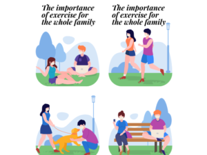 The importance of exercise for the whole family