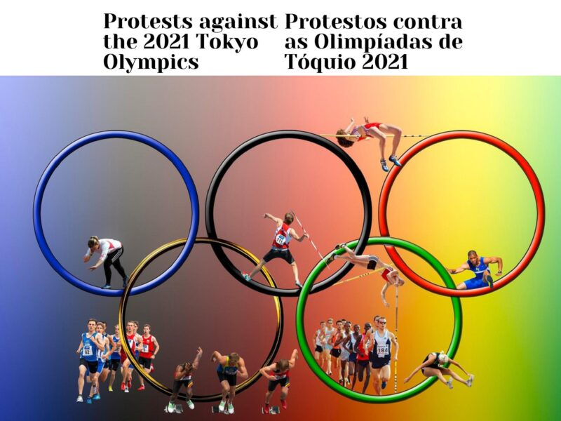 Protests against the 2021 Tokyo Olympics
