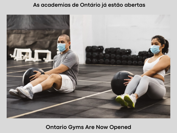 As academias de Ontário já estão abertas